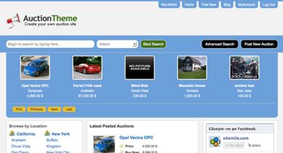 auction themes