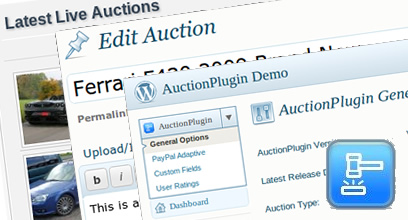 WordPress Auctions Plugin