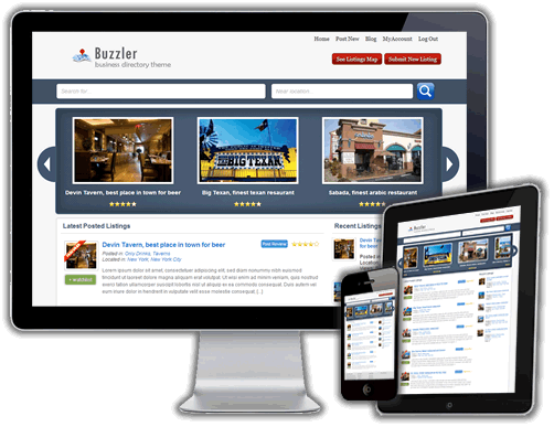 Buzzler wordpress business directory theme sitemile buzzler business directory theme cheaphphosting Choice Image