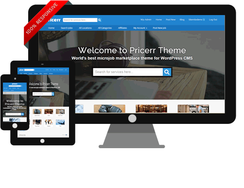 WordPress Pricerr Theme