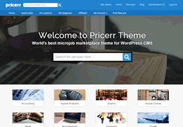 WordPress Pricerr Theme save up to 35% off discount coupon code