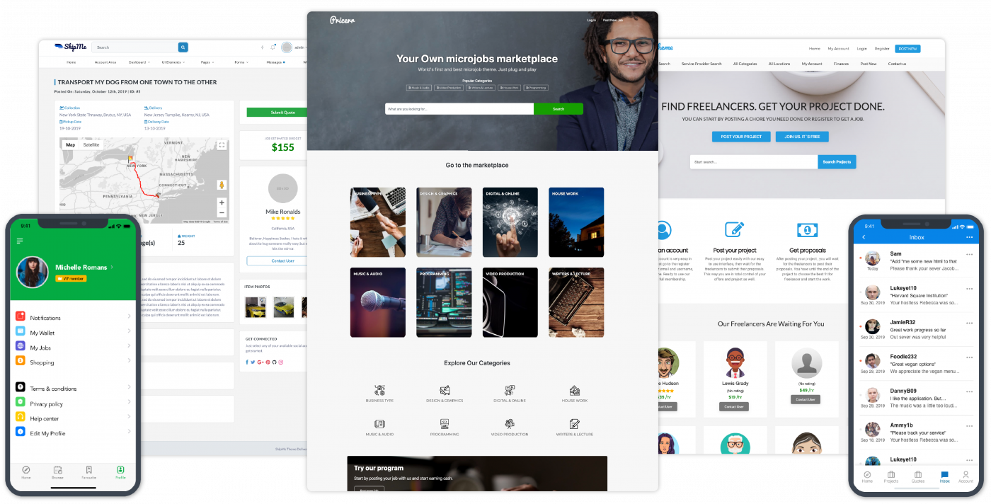 sitemile wordpress themes