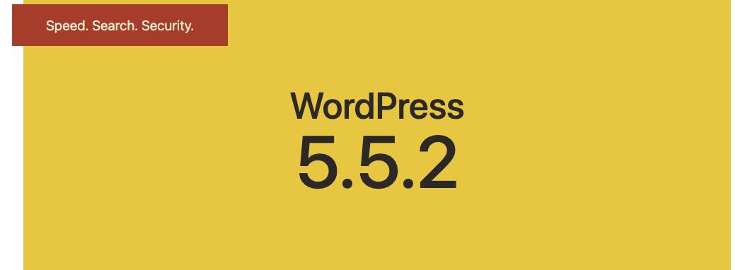 wordpress 5.5.2
